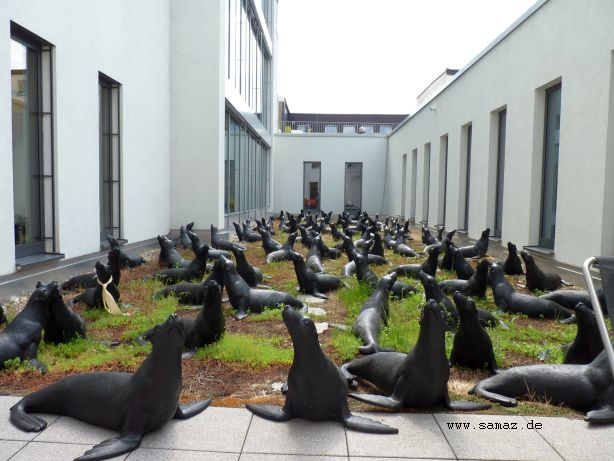 Seelöwenskulpturen