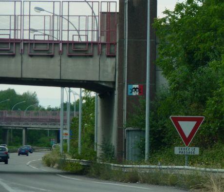 Invader E25 - Basel -> Mulhouse