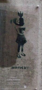 Banksy Bomb Hugger - Hamburg
