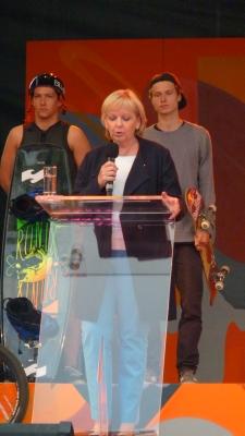 Hannelore Kraft eröffnet die Spiele - hoffentlich setzt sie auch gegen die Vorratsdatenspeicherung ein?