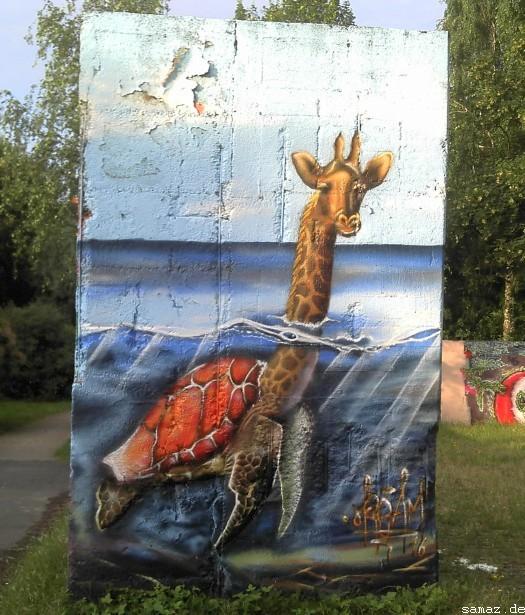 Graffiti im Landschaftspark Nord