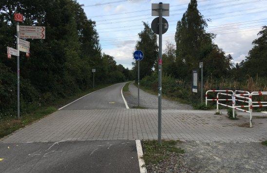 Foto RS1 Radschnellweg Grugaabzweig