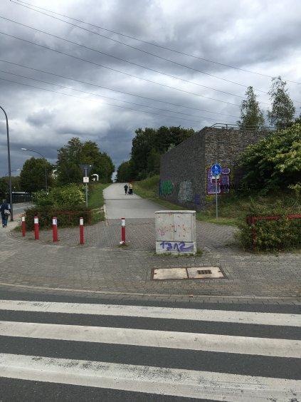 Foto RS1 Radschnellweg