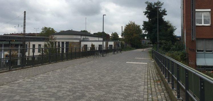 RS1 Radschnellweg Bahnhof Mülheim an der Ruhr