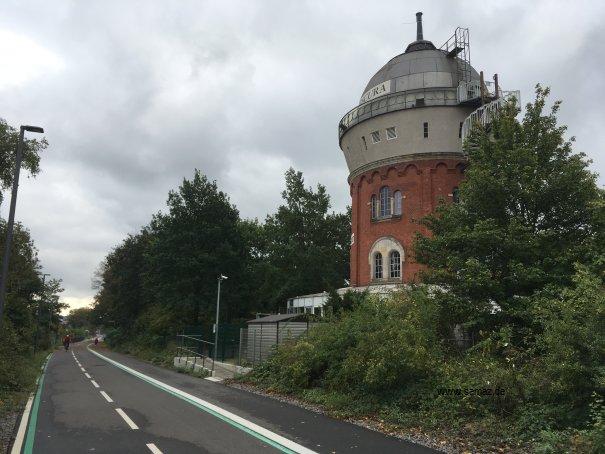 Foto Camera Obscura vom Radschnellweg RS1 Mülheim