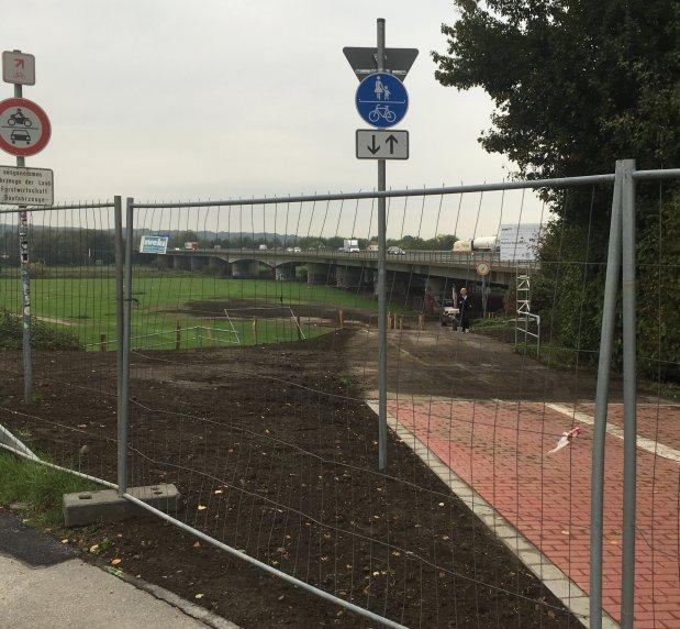 Umbau Ruhrtalradweg