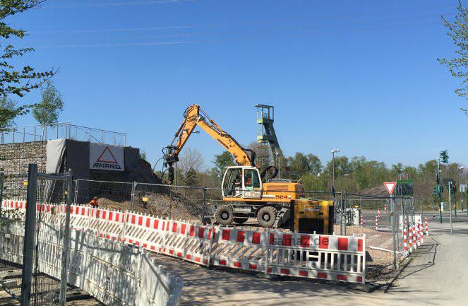 Bagger - Brückenbau RS1