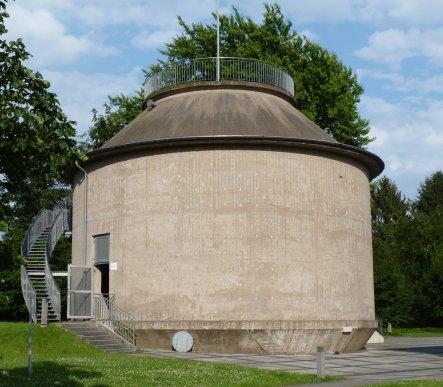 Faulturm der ehemaligen Kläranlage Läppkes Mühlenbach